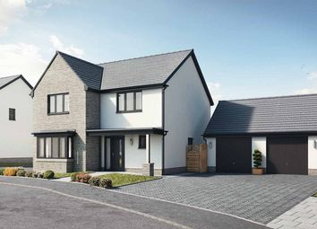 Thumbnail 4 bed detached house for sale in Plot 8, The Harlech, Caswell, Swansea