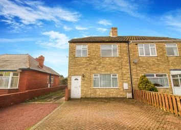 Thumbnail 3 bedroom semi-detached house for sale in Main Street, Red Row, Morpeth