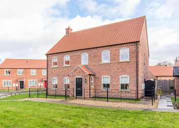 Thumbnail 4 bed detached house for sale in Hickman Grove, Collingham, Newark