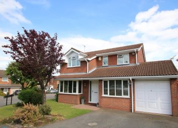 Thumbnail 4 bed detached house for sale in Sheridan Drive, Galley Common, Nuneaton