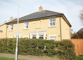 Thumbnail 2 bed end terrace house for sale in Elysian Close, Ely
