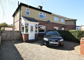 Thumbnail 3 bedroom semi-detached house for sale in Northway, Throckley, Newcastle Upon Tyne