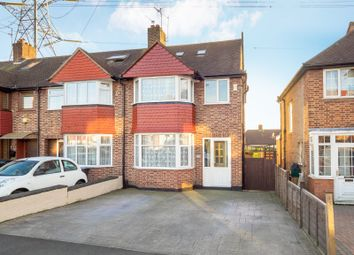 Thumbnail 5 bed end terrace house for sale in Lynmouth Avenue, Morden, Surrey