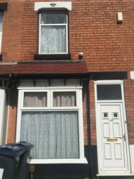 Thumbnail 3 bed terraced house for sale in Solihull Road, Birmingham