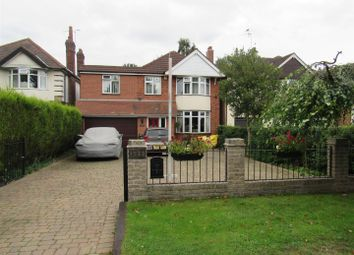 Thumbnail 4 bed detached house for sale in Melton Road, Queniborough, Leicester