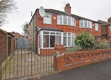 Thumbnail 3 bed semi-detached house for sale in Hartswood Road, Withington, Manchester