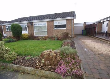 Thumbnail 2 bed semi-detached bungalow for sale in Greystoke Place, Cramlington