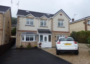 Thumbnail 5 bedroom detached house for sale in Gwscwm Park, Pembrey, Burry Port