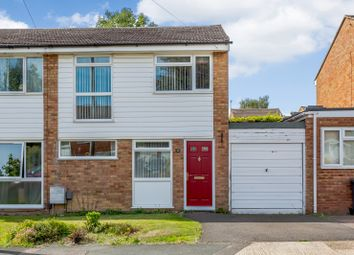 Thumbnail 3 bed semi-detached house for sale in Halsey Drive, Hitchin