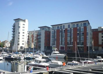 Thumbnail 3 bedroom flat for sale in Meridian Wharf, Trawler Road, Swansea