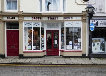 Thumbnail Retail premises for sale in Cross Street News, 43, Cross Street, Camborne, Cornwall
