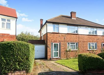 Thumbnail 3 bed semi-detached house for sale in Henley Close, Greenford