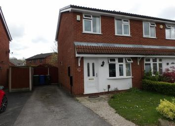 Thumbnail 2 bed semi-detached house for sale in Willoughby Close, Old Hall, Warrington, Cheshire