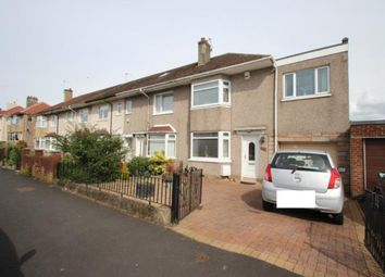 Thumbnail 3 bed end terrace house for sale in Sugworth Avenue, Garrowhill, Glasgow, Lanarkshire