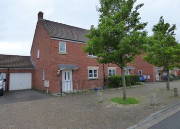Thumbnail 3 bedroom semi-detached house for sale in Griffen Road, Weston Village, Weston-Super-Mare