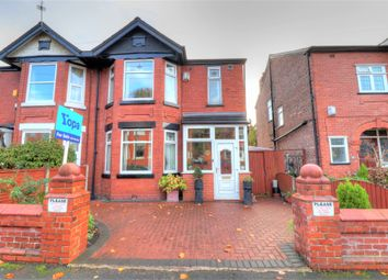 Thumbnail 3 bed semi-detached house for sale in Linden Park, Burnage, Manchester