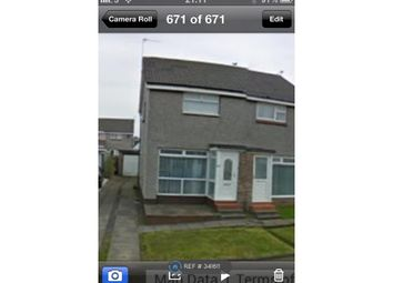 Thumbnail 2 bed semi-detached house to rent in Greenacres, Ardrossan