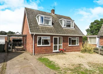 Thumbnail 3 bedroom bungalow for sale in Holman Close, Aylsham, Norwich