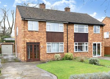 Thumbnail 3 bedroom semi-detached house for sale in St. Peters Close, Mill End, Rickmansworth, Hertfordshire