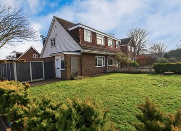 Thumbnail 3 bed semi-detached house for sale in Chestnut Drive, Broadstairs
