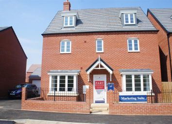 Thumbnail 5 bed town house for sale in Hartwell Manor, Cranfield, Bedford