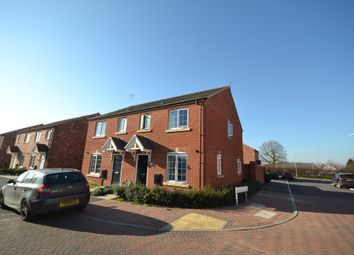 Thumbnail 3 bedroom semi-detached house to rent in Bosworth Way, Leicester Forest East, Leicester