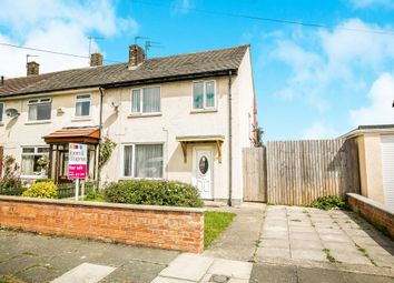 Thumbnail 3 bed end terrace house for sale in Pasture Avenue, Moreton, Wirral