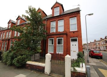 Thumbnail 5 bed end terrace house to rent in Cambridge Road, Liverpool
