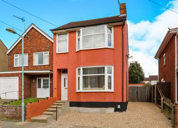 Thumbnail 3 bed detached house for sale in Kensington Road, Ipswich