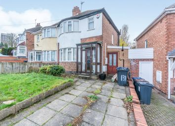 Thumbnail 3 bedroom semi-detached house to rent in Marsham Road, Kings Heath, Birmingham