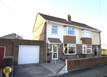 Thumbnail 3 bed semi-detached house for sale in Thornyville Villas, Oreston, Plymouth.