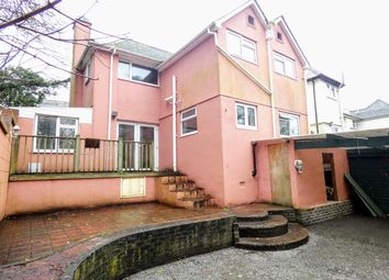 Thumbnail 4 bed semi-detached house for sale in Crossways, Falmouth