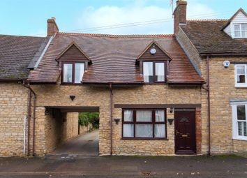Thumbnail 2 bed terraced house for sale in High Street, Stoke Goldington, Newport Pagnell