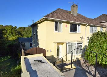 Thumbnail 3 bed semi-detached house for sale in Fountains Crescent, Ham, Plymouth