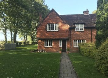 Thumbnail 3 bed semi-detached house to rent in Hunton, Sutton Scotney, Winchester