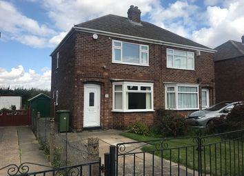 Thumbnail 2 bed semi-detached house to rent in Sherwood Road, Grimsby