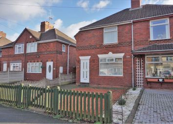 Thumbnail 2 bed semi-detached house for sale in Oak Road, Walsall