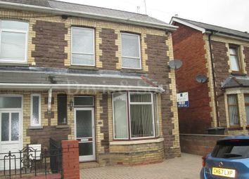 Thumbnail 3 bed semi-detached house for sale in Brookland Road, Risca, Newport.
