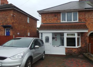 Thumbnail 3 bed end terrace house for sale in Parkeston Crescent, Kingstanding, Birmingham