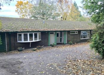 Thumbnail 4 bed bungalow for sale in Manor Road, Madeley, Crewe, Staffordshire