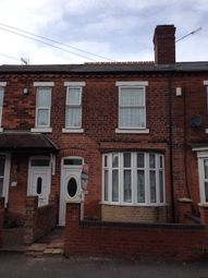 Thumbnail 3 bed terraced house to rent in Pargeter Street, Walsall