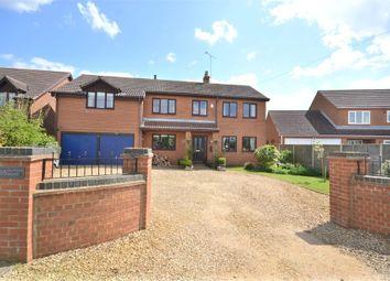 Thumbnail 5 bed detached house for sale in Sutton Road, Walpole Cross Keys, King's Lynn