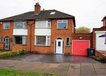 Thumbnail 4 bedroom semi-detached house for sale in Cromwell Lane, Birmingham