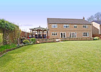 Thumbnail 5 bed detached house for sale in The Sanderlings, Peakirk, Peterborough