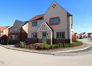 Thumbnail 4 bed detached house for sale in Osprey Drive, Corby