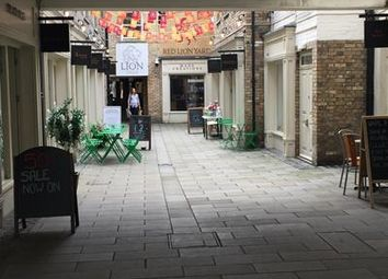 Thumbnail Retail premises to let in Unit 17, Red Lion Yard, Red Lion Walk, Colchester, Essex