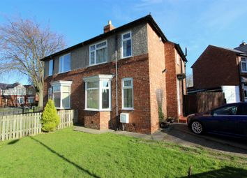 Thumbnail 3 bed semi-detached house for sale in Crossfield Road, Darlington
