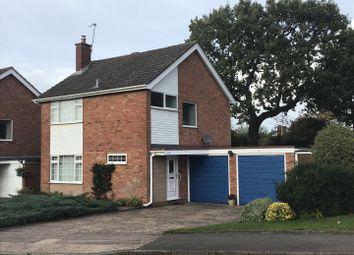 Thumbnail 3 bedroom detached house for sale in Sandhurst Drive, Penn, Wolverhampton