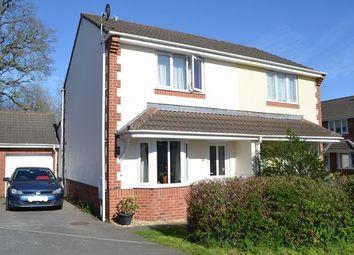 Thumbnail 2 bedroom semi-detached house to rent in Pearmain Close, Willand, Cullompton