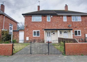 Thumbnail 2 bed semi-detached house for sale in Temple Avenue, Blyth